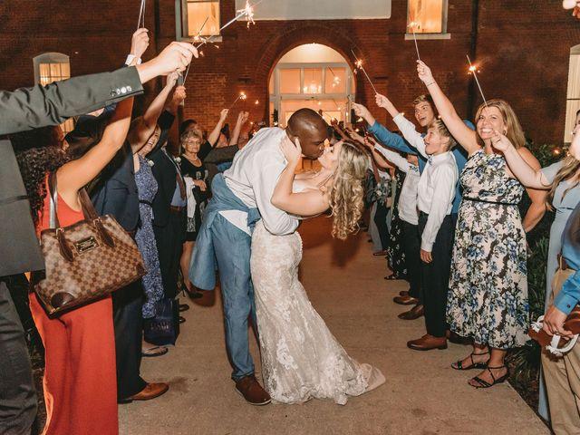 Lance and Caroline's Wedding in Sanford, Florida 61