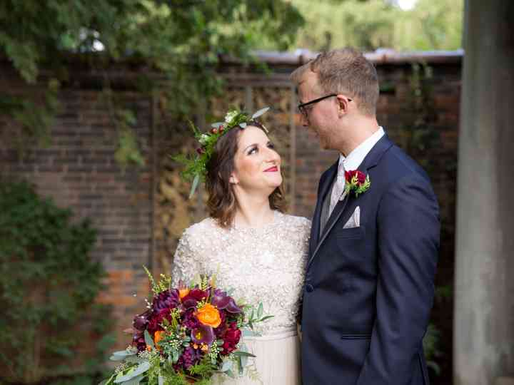 The wedding of Astrid and Jeff