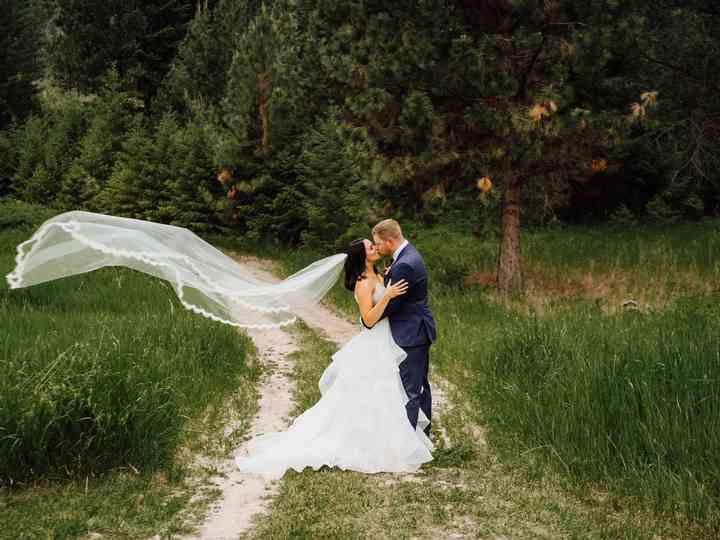 The wedding of Brydon and Jennae