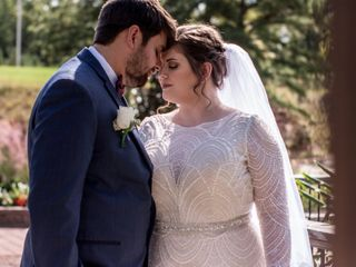 The wedding of Brandi and Jason