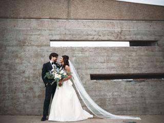 The wedding of Kristen and Garrett 1