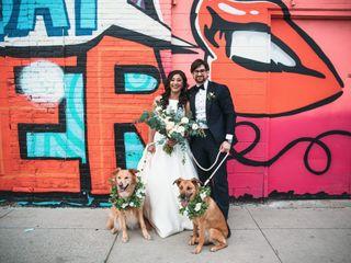 The wedding of Kristen and Garrett