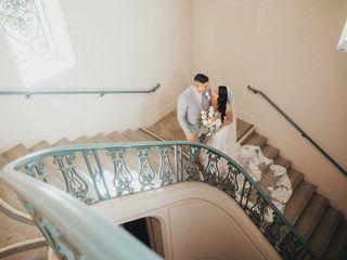 The wedding of William and Jeraldine