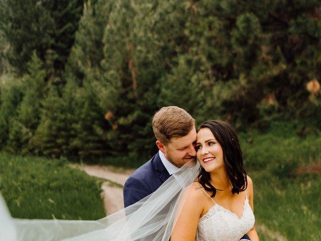 Jennae and Brydon's Wedding in Alberton, Montana 1