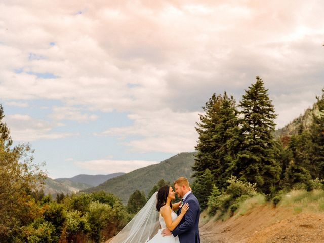 Jennae and Brydon's Wedding in Alberton, Montana 2