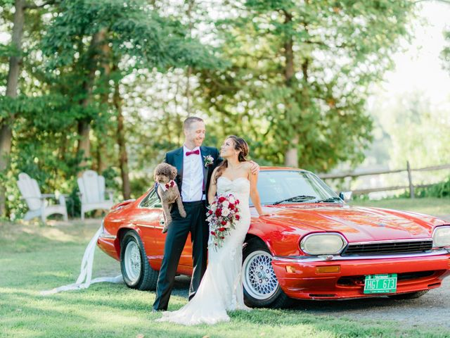 The wedding of Cierra and Aaron
