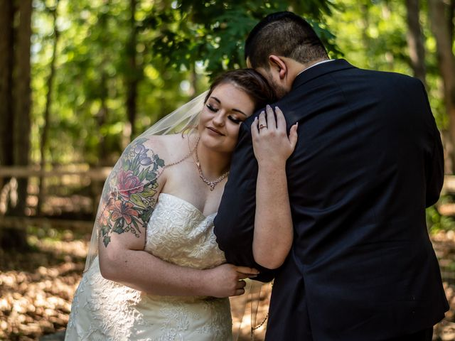 The wedding of Brenna and Brian