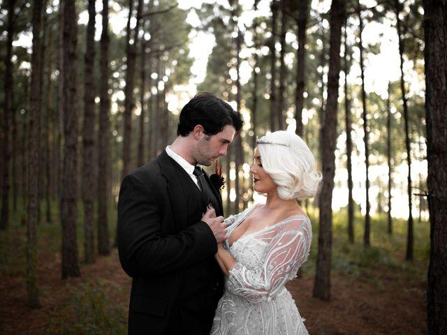 The wedding of Sabrina and James