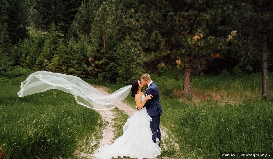Jennae and Brydon's Wedding in Alberton, Montana