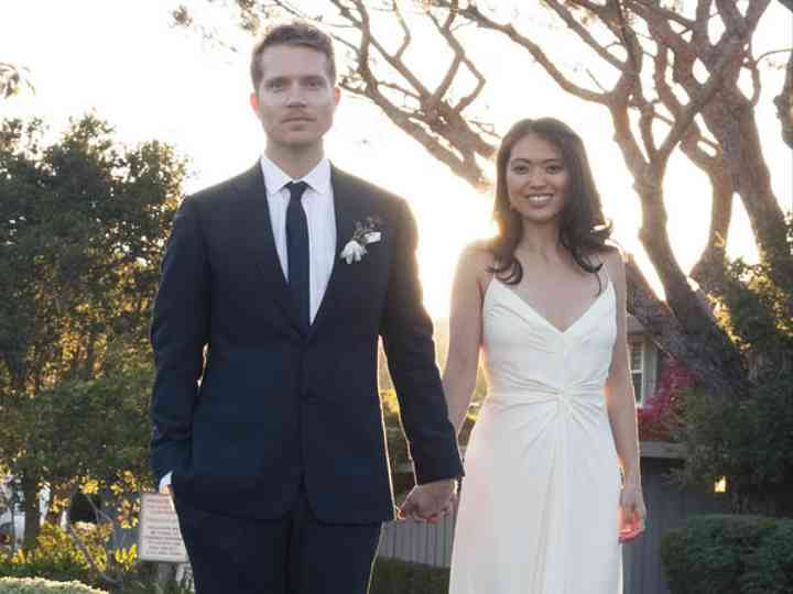 The wedding of Brad and Joy