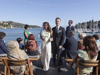 Joy and Brad's Wedding in Belvedere Tiburon, California 9