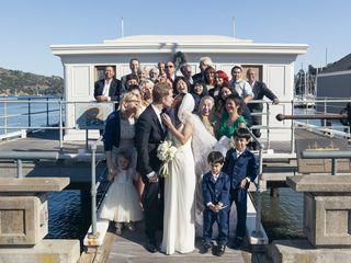 Joy and Brad's Wedding in Belvedere Tiburon, California 10