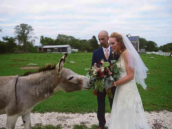 The wedding of Torey and Jami