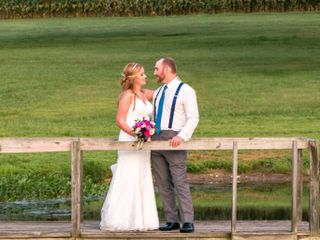 The wedding of Alli and Adam