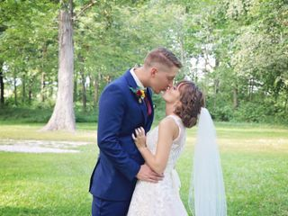 The wedding of Becky and Kyle