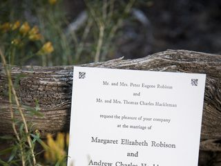 The wedding of Drew and Margot 2