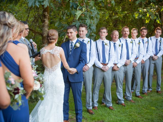 A.J. and Larecea's Wedding in Sweet Home, Oregon 10