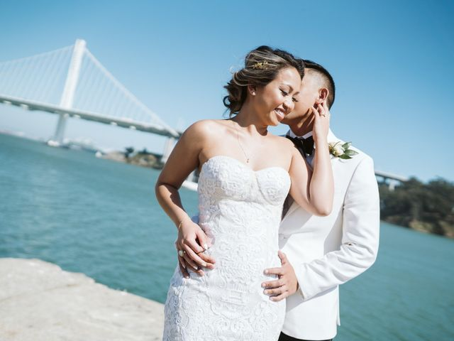 Marg and Ant's Wedding in San Francisco, California 118