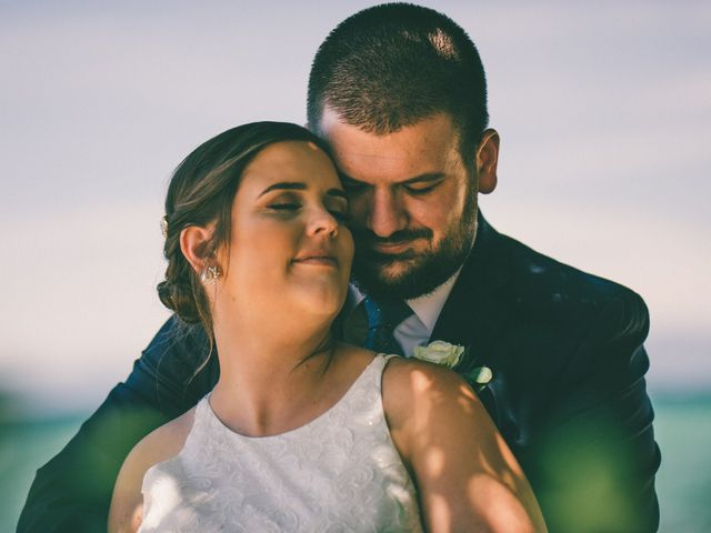 The wedding of Katie and Tyler