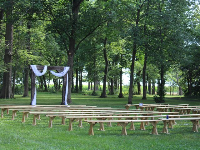 Kyle and Becky's Wedding in Lafayette, Indiana 12