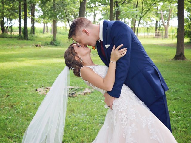 Kyle and Becky's Wedding in Lafayette, Indiana 15