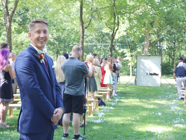 Kyle and Becky's Wedding in Lafayette, Indiana 7