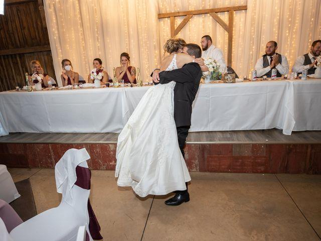 Kevin and Kirsten's Wedding in Burnett, Wisconsin 35