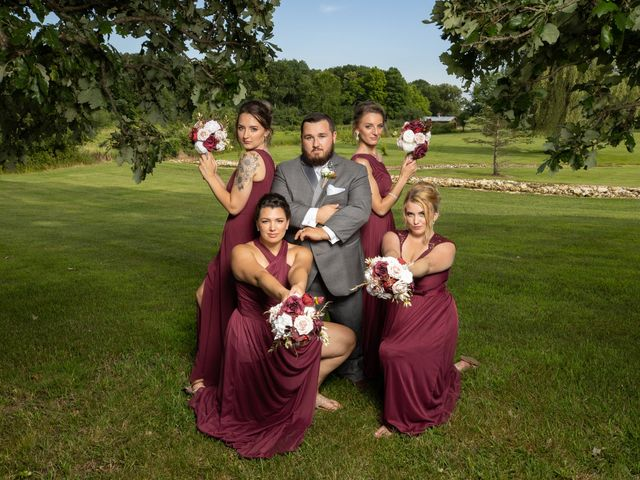Kevin and Kirsten's Wedding in Burnett, Wisconsin 53
