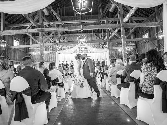 Kevin and Kirsten's Wedding in Burnett, Wisconsin 79