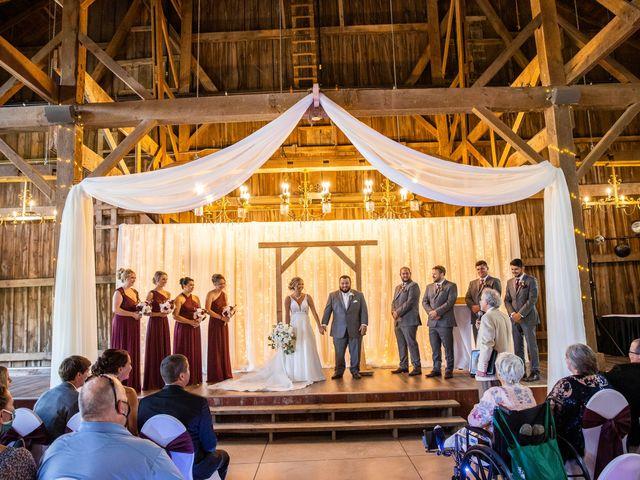 Kevin and Kirsten's Wedding in Burnett, Wisconsin 82