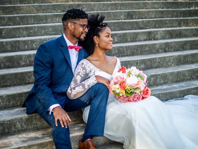 The wedding of Bria and Harrison