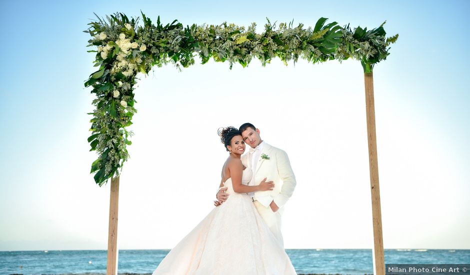 Chris and Greisy's Wedding in Punta Cana, Dominican Republic