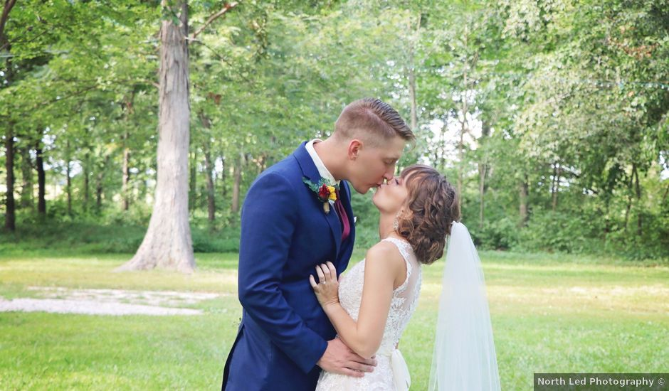 Kyle and Becky's Wedding in Lafayette, Indiana
