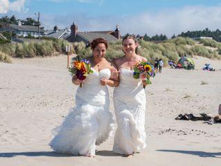 The wedding of Jesica and Yesenia 2
