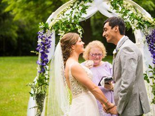 The wedding of Angela and Harsh 1