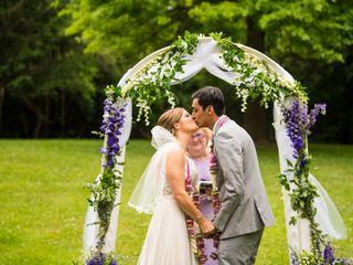 The wedding of Angela and Harsh 2