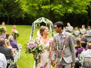 The wedding of Angela and Harsh