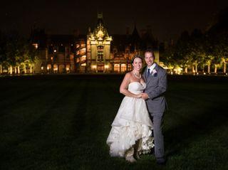 The wedding of Julia and David 1