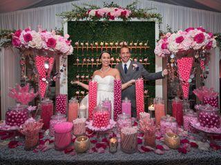 The wedding of Julia and David