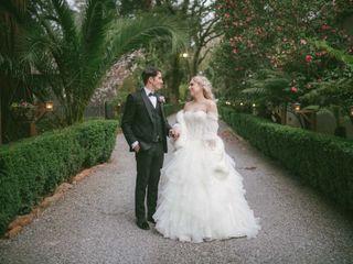 The wedding of Izzy and Garett