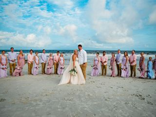 The wedding of Ana and Chandler 1