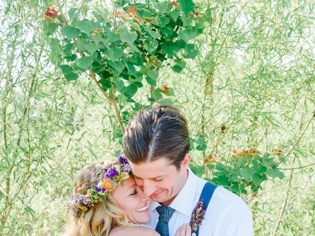 The wedding of Maren and Josh