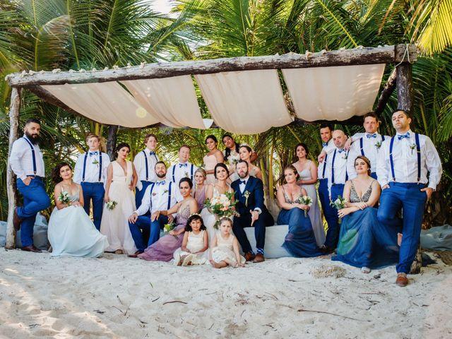 Jason and Lupita's Wedding in Playa del Carmen, Mexico 2