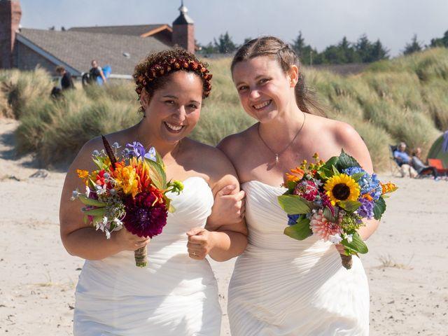 The wedding of Jesica and Yesenia