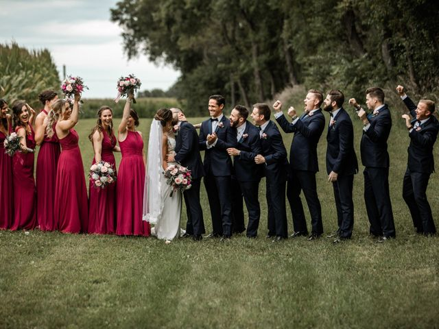 Alexander and Michelle's Wedding in Dixon, Illinois 3