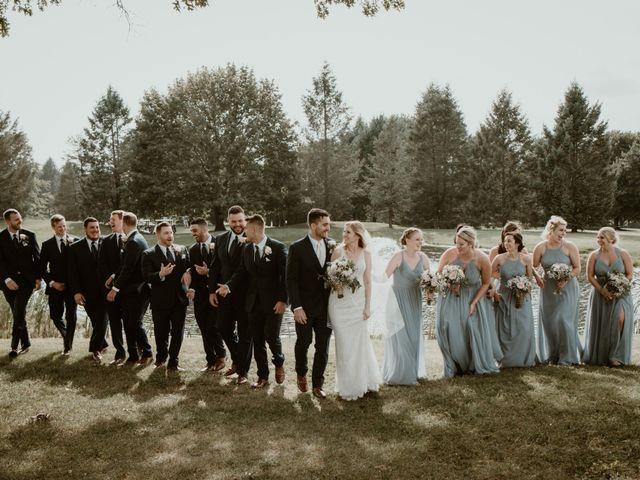 John and Jenna's Wedding in Hartland, Michigan 7