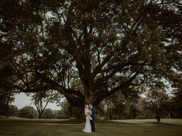 John and Jenna's Wedding in Hartland, Michigan 8