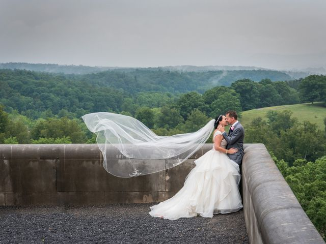 David and Julia's Wedding in Asheville, North Carolina 26