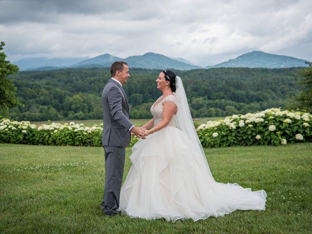 David and Julia's Wedding in Asheville, North Carolina 36