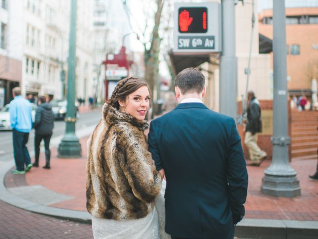 Caitlyn and Anthony's Wedding in Portland, Oregon 15